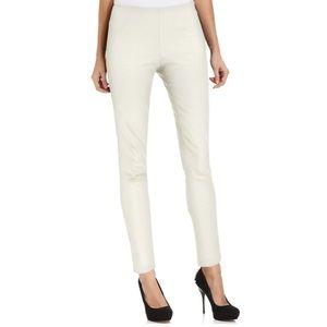 NWT Vince Camuto Skinny Pants Size 12 Ivory